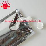 Modificado para requisitos particulares levantarse la muestra de aluminio de la bolsa del canalón de la bolsa del alimento del canalón del escudete