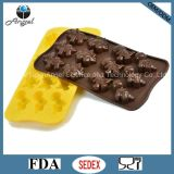инструмент Si07 выпечки шоколада формы насекомого инструмента печенья силикона 12-Cavity