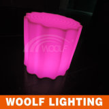 Ce / RoHS Factory Rechargeable Plastic LED Lighting Up Tree Chair