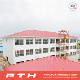 Q235 가벼운 강철 구조물 Prefabricated 호텔