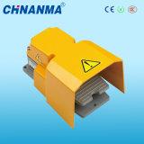 250VAC à pédale Interrupteurs commutateur au pied avec couvercle jaune