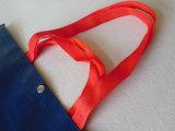 Крупноразмерно сделайте прокатанную Non сплетенную хозяйственную сумку водостотьким Tote