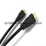 Mini cabos de alta velocidade superiores novos de HDMI para PS4 com Ethernet