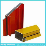 Aluminum industrial Extrusion com Different Shapes Excellent Surface Powder Coating