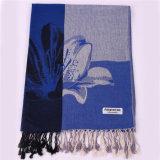 2016 de Hete Sjaal van Pashmina van de Winter van de Sjaal van de Manier van de Verkoop Donkerblauwe voor Vrouwen