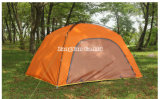 وحيدة طبقة خيمة, 4 شخص [كمب تنت] برتقاليّ