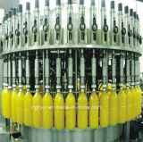 Автоматическое машинное оборудование завалки бутылки для завода апельсинового сока