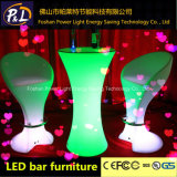 LED에 의하여 조명되는 가구 로비 가구 옥외 LED 물통 발판