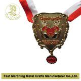 Medaille van de Sporten van de Medaille & van de Marathon van de Herinnering van de douane de Lopende