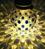 Indicatore luminoso della bottiglia di vetro di energia solare LED