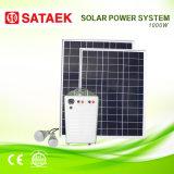 Подвижная солнечная система 1000W для домашней пользы