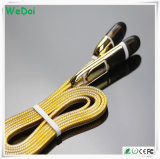方法携帯電話(WY-CA04)のためのナイロン編みこみのデータUSBケーブル