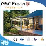 薄板にされたガラスのアルミニウムSunroomsまたは最もよいSunroomsガラスの家が付いている販売人のSunroom