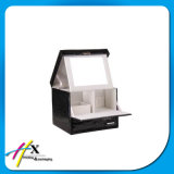 Коробка подноса изготовленный на заказ картона пакета индикации ювелирных изделий деревянная с зеркалом