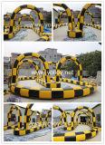 Inflable pista de carreras de bola de Zorb para el parque de atracciones