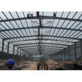 軽い鋼鉄Strctureによって組立て式に作られる家の倉庫の建物の鋼鉄小屋