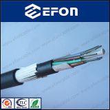 24/72/96 кабелей стекловолокна стеклянной пряжи Armored ADSS сердечника (GYFTY53-FS)