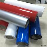 Película de transferencia de calor / PU con base de vinilo Ancho 50 Cm de longitud 25 M para la impresión de textiles