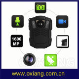 Caméra vidéo de TFT Screen Mini HD1080p 30fps Infrared Night Vision Police Body Worn