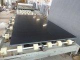 建築材料の黒の人工的な大理石の平板の水晶石