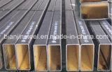 Tubulação de aço retangular de Q235 Ss400 S235jr