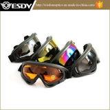 Black Gray Hunting Airsoft X400 Proteção Tactical Moto Glasses