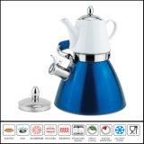 Caldera doble del silbido con la caldera de múltiples funciones del crisol de cerámica del té