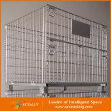 Stapelbarer Behälter des Rahmen-/des SpeicherCage/Wire Ineinander greifen-Carrier/Mesh