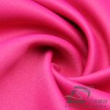 agua de 75D 290t y de la ropa de deportes tela tejida chaqueta al aire libre Viento-Resistente 100% de la pongis del poliester del telar jacquar del satén abajo (E150)