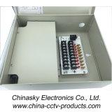 12VDC 5AMP 9 Kanal-Metallschrank CCTV-Stromversorgung (12VDC5A9PN)