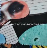 줄무늬 높은 Fastness 테이블 피복 직물 인쇄 직물