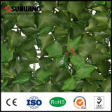 Home 정원을%s 푸른 잎 부시 Artificial Plant Leaf Fence