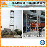 Échafaudage en aluminium de certificat de TUV, échafaudage mobile, tour d'échafaudage (SDW-01)