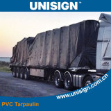 Truck Cover를 위한 반대로 UV Coated Tarpaulin