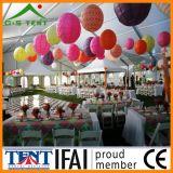 Tienda transparente el 12mx15m de la boda del partido de la carpa
