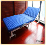 Bed/Hotel se pliant Bed/Hospital Bed avec Mattress 190*65cm Red Color