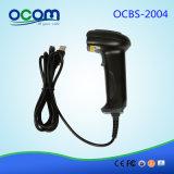 Scanner tenu dans la main du code barres 1d/2D de qualité