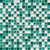 Glass及びIce Crackle Ceramicの優雅なStyle Square Mosaic Tile