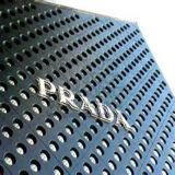Rundes DOT Aluminum Panel PVDF Coating für Shop/Building Decoration