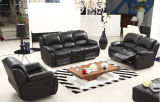 Leather moderno Recliner Sofa con Genuine Leather Sofa Set