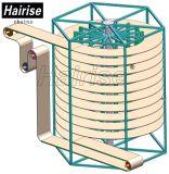 Sistema de transporte de parafuso helicoidal do transporte do transporte espiral do sem-fim de transporte