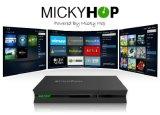 Servizio di Apps dell'ibrido DVB del contenitore astuto facoltativo di sintonizzatore TV & GUI privati
