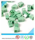 2.54mm Pitch 2weg/Pin PWB Terminal Block
