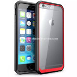 Tampa traseira Shockproof do silicone duro desobstruído novo de Supcase PC+ para iPhone6