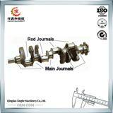 Cigüeñal de acero forjado del motor de las piezas de automóvil del cigüeñal del motor para las piezas de automóvil