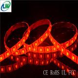 Luz de tira flexível do diodo emissor de luz de Epistar da cor vermelha da decoração (LM5050-WN120-R)