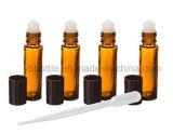 5 ml, 10 ml, y una gran aromaterapia 30 Ml Amber Glass Roll-on botellas de perfume Aceites Esenciales