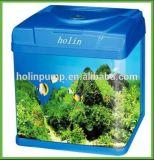 Aquário com o tanque de peixes Hl-Atb46 do diodo emissor de luz e do filtro
