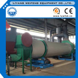 Sawdust Chips를 위한 4-5t/H Rotary Drum Dryer