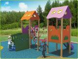Kaiqi ягнится хаты напольной спортивной площадки деревянные играя (KQ60079D)
